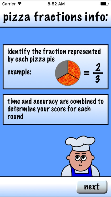 Pizza Fractions 1 screenshot-4