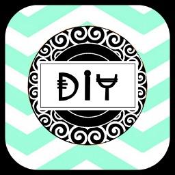 Monogram DIY - Do It Yourself Wallpaper Maker