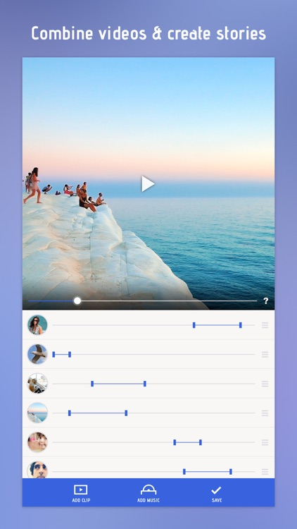 Combine Videos & Clips Together In Video Slideshow