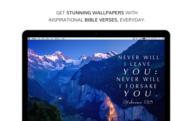 BibleVerses - Daily Verse in 4K Wallpapers on the Mac App Store