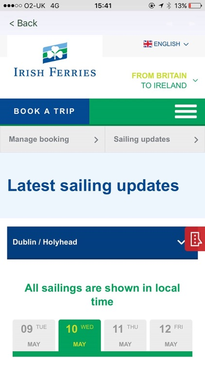 Irish Ferries screenshot-2