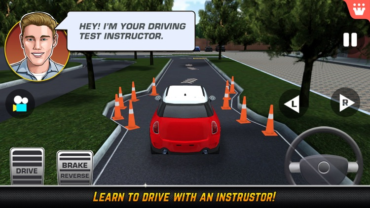 High School Driving Test – Car Driving and Parking screenshot-0