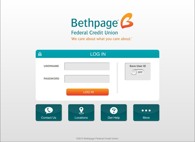Bethpage Mobile Banking for iPad