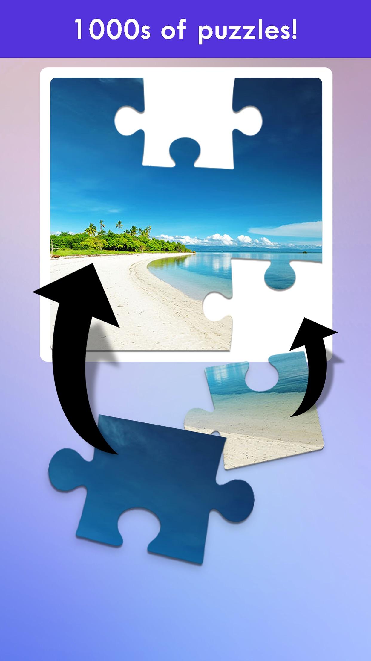 100 PICS Puzzles - jigsaw puzzle games Screenshot