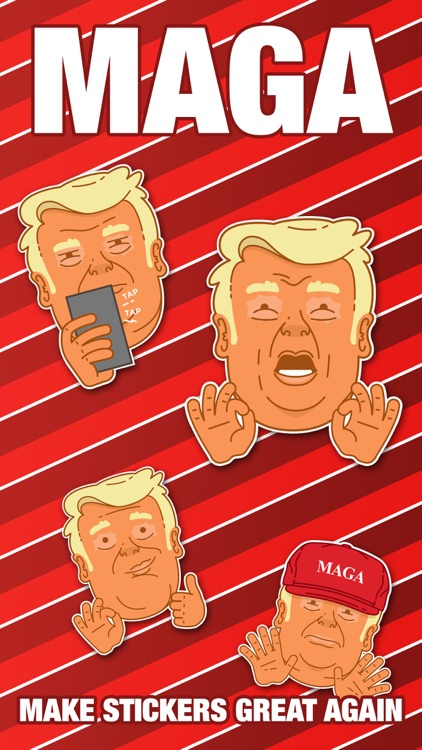 MAGA Stickers