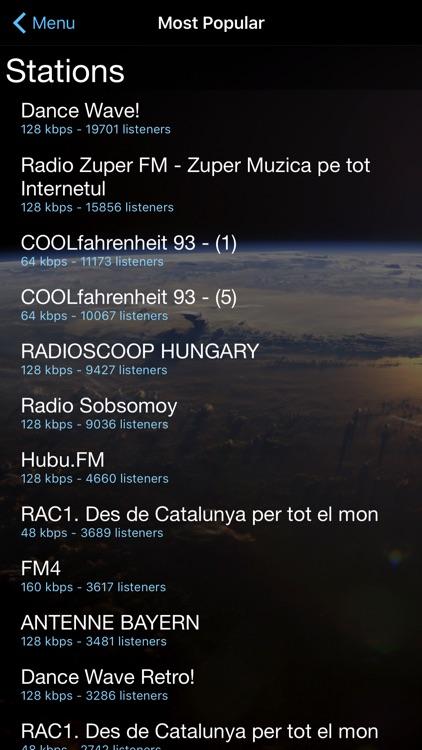 Cloud Radio Pro screenshot-3