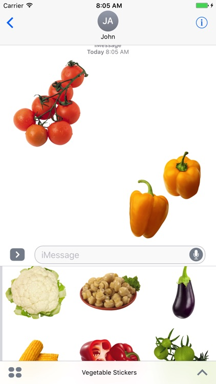 Best Vegetables Stickers!