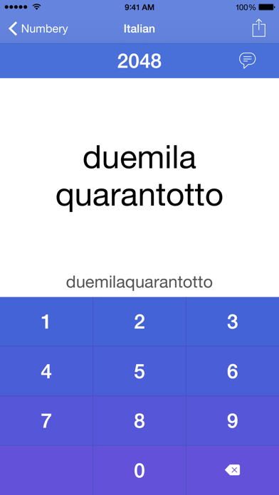 Numbery : convert numbers into words screenshot three