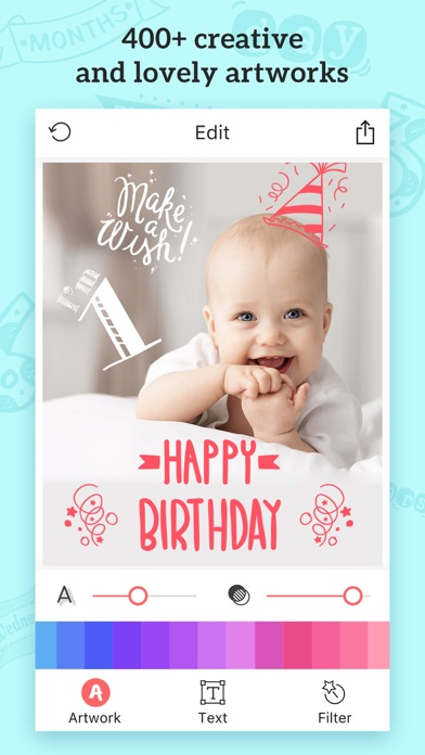 Baby Photos – Add Text, Caption&Sticker to Picture screenshot four