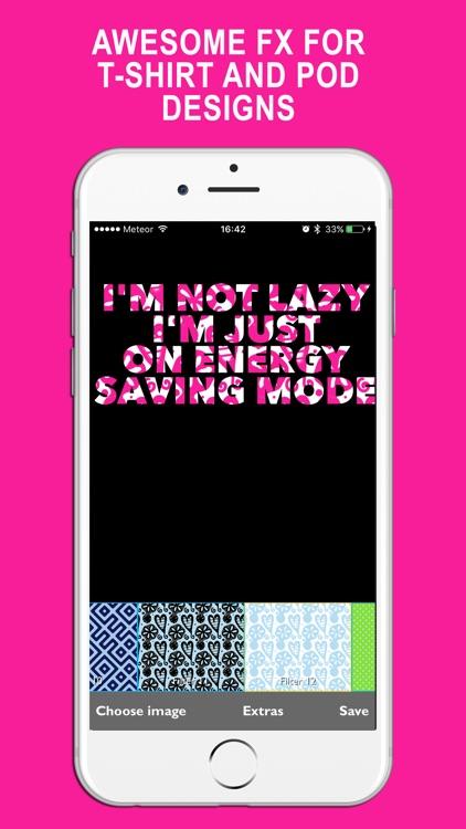 Pattern Font PNG effects screenshot-3