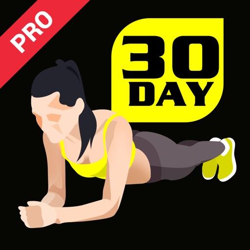30 Days Plank Challenge Pro