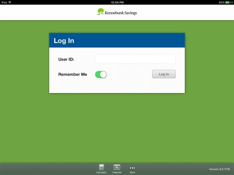 Kennebunk Savings Mobile for iPad