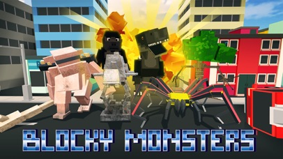 Blocky Monsters Smash screenshot 1