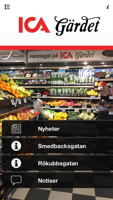 ICA Gärdet intern screenshot one