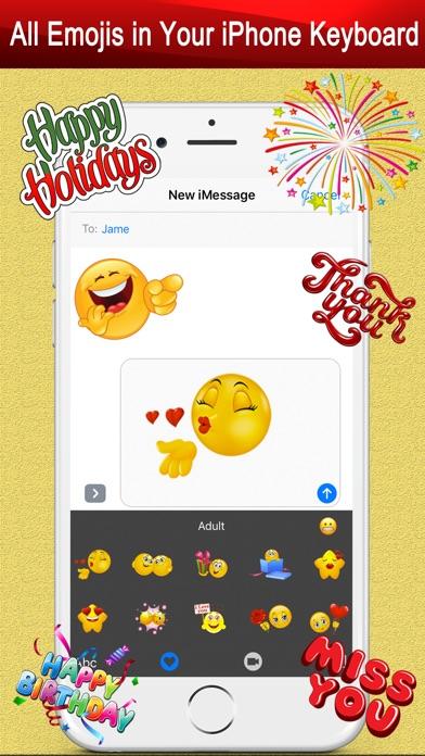 Twitch Emoji - Emotion keyboard Text Adult Smileys-4