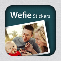 Wefie Stickers-Decorate your family, friendship