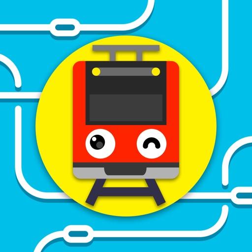 ツクレール - 線路をつなぐ電車ゲーム 子供も大人も運転手気分