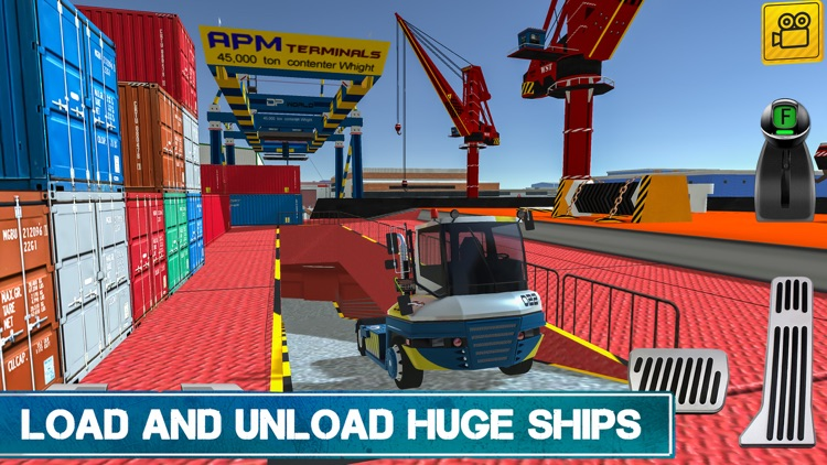 Cargo Crew: Port Truck Driver screenshot-0