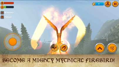 Phoenix Fantasy Fire Bird Simulator 3D screenshot one