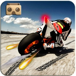 ‎VR Heavy Bike Racer: Real Snow Highway Driver