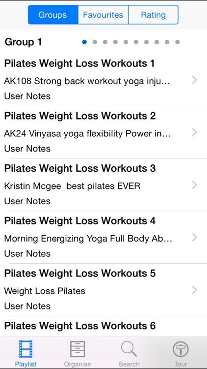 Pilates Weightloss Workouts