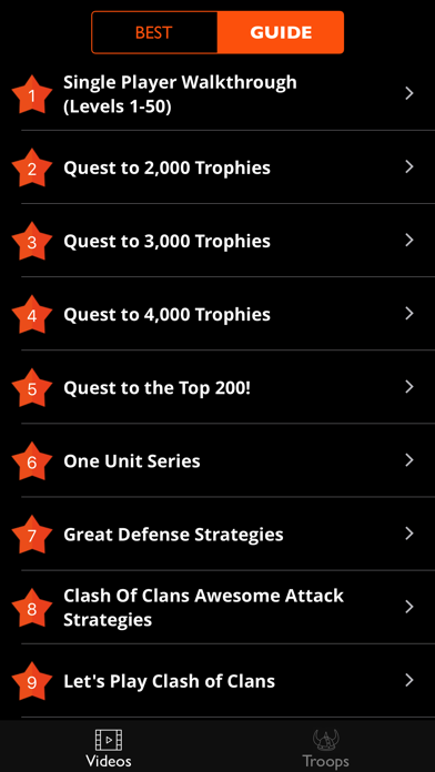 Gems Guide for Clash of Clans.のおすすめ画像4