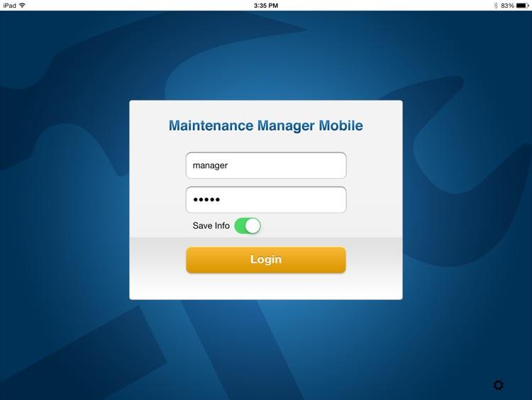 Maintenance Manager