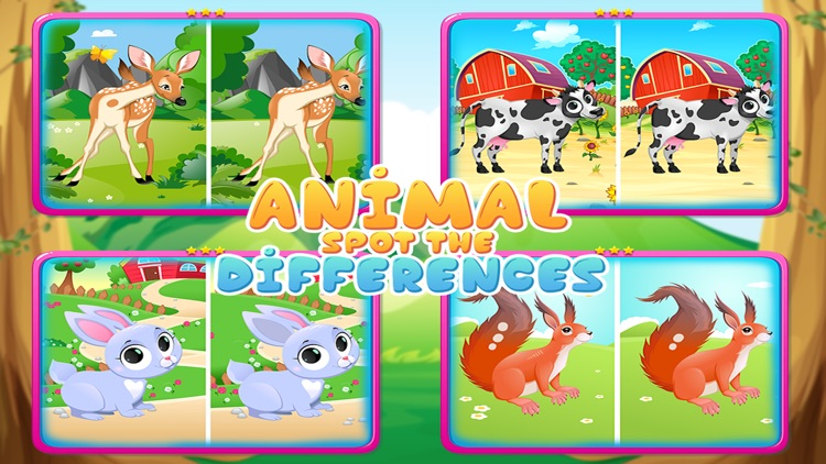 Spot The Differences : Animal screenshot-4