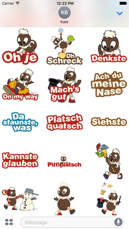 Pittiplatsch Stickers