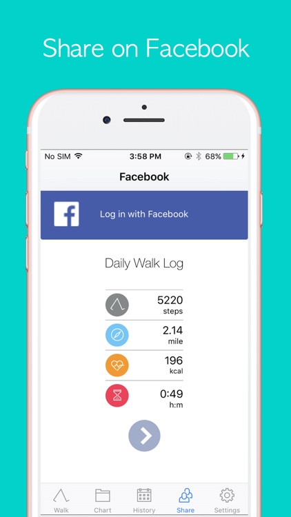 StepOn Step Tracker screenshot-4