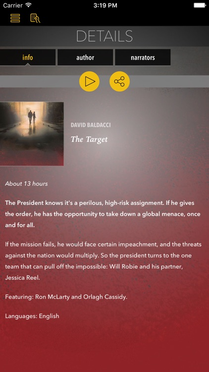 The Target (by David Baldacci)