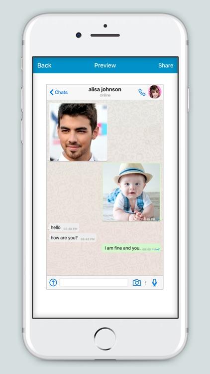 Fake Conversation - Fake Chat