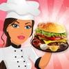 料理ゲーム バーガー ファストフード レストラン シェフ - iPadアプリ
