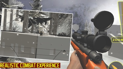 Sniper Winter: Headshot Mission screenshot two