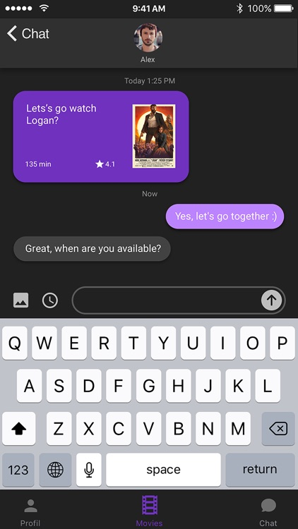 Cinenow - Dating app screenshot-3