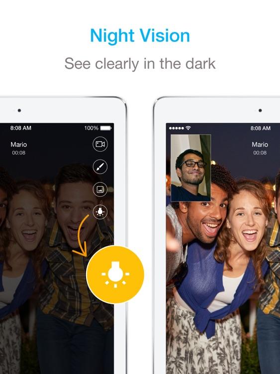 JusTalk HD - Fun Video Calls & Video Chat App screenshot-4