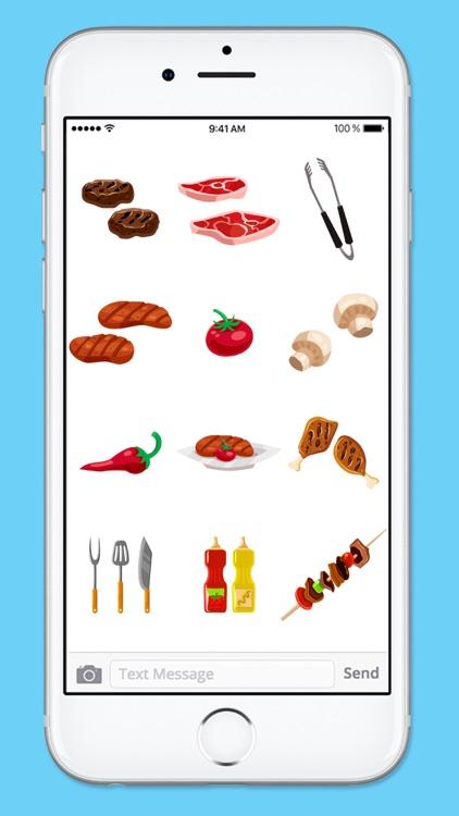 Let's BBQ Barbeque Grilling Sticker Pack screenshot-3