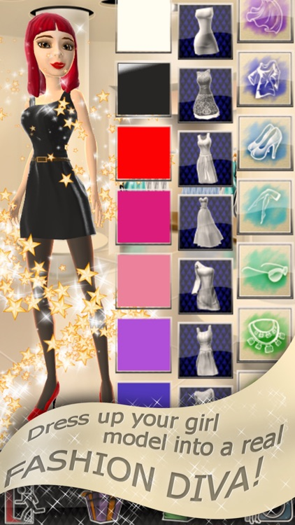 Fashion Dress Up - 3D Games for Girls