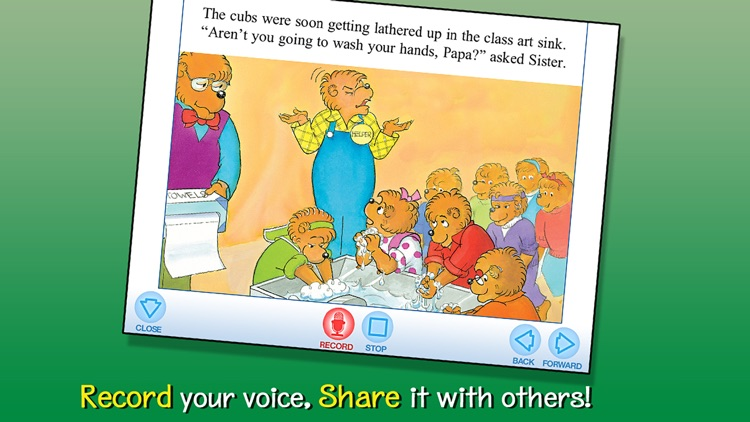 The Berenstain Bears Come Clean for School screenshot-3