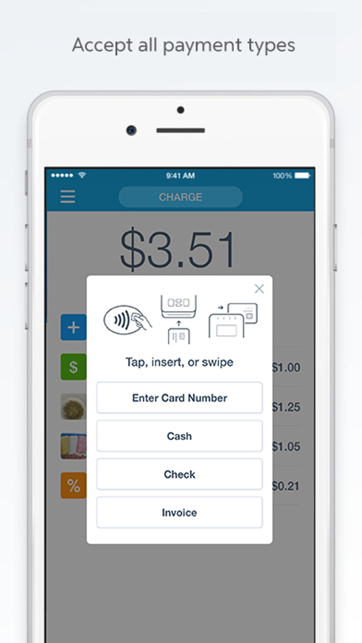 PayPal Here : Mobile Point Of Sale (POS) System Screenshot