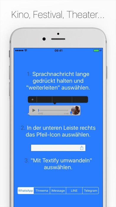 Screenshot for Textify - Lesen statt Hören! in Germany App Store