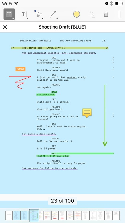 Scriptation - Annotate PDF Scripts for Film and TV screenshot-3