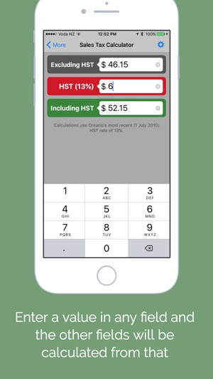 Hst Tax Calculator >> Ontario Sales Tax Calculator Hst Gst Pst