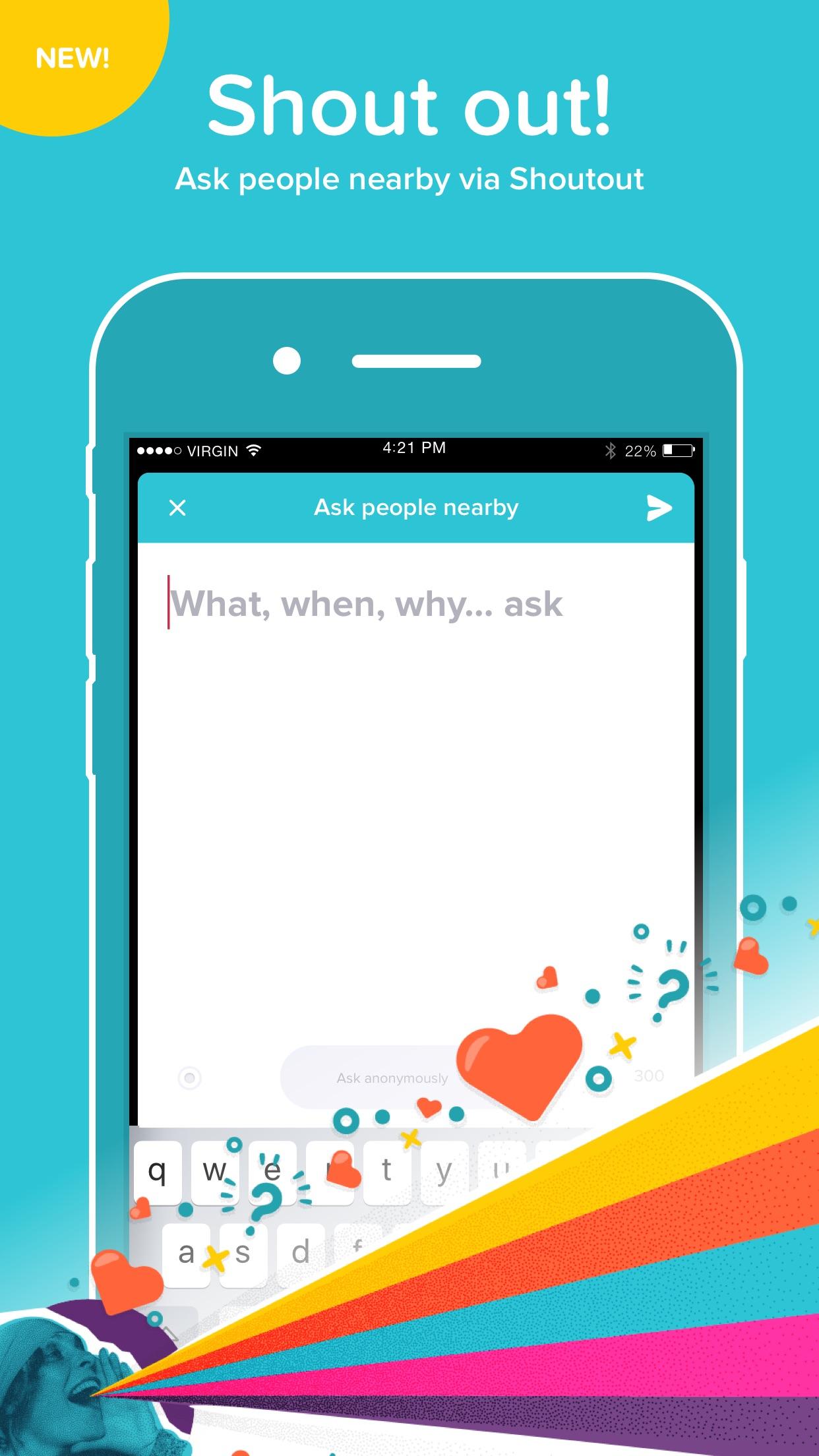 ASKfm: Ask Anonymous Question Screenshot