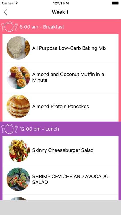 7 Day Diet Plan For Weight Loss screenshot-3