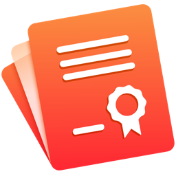 Ícone do app Certificate Templates - 70+ Templates for Pages