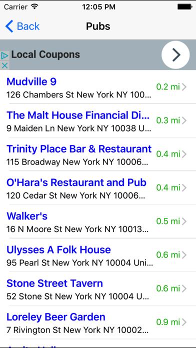 Bar & Happy Hour Finder: Find Your Nearest Bars screenshot three