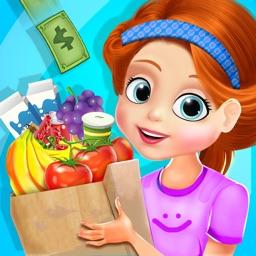 Supermarket Shopping Game For Kids