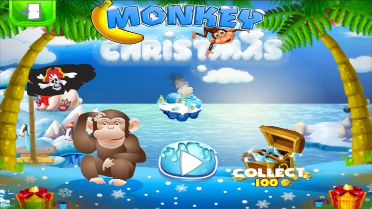Monkey Chirstmas Island