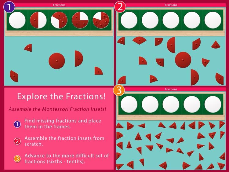 Preschool Fractions - Montessori Math for Kids